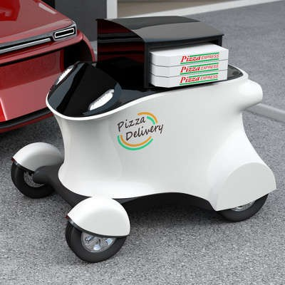 Domino's Invests in a Global Fleet of Pizza Delivery Robots